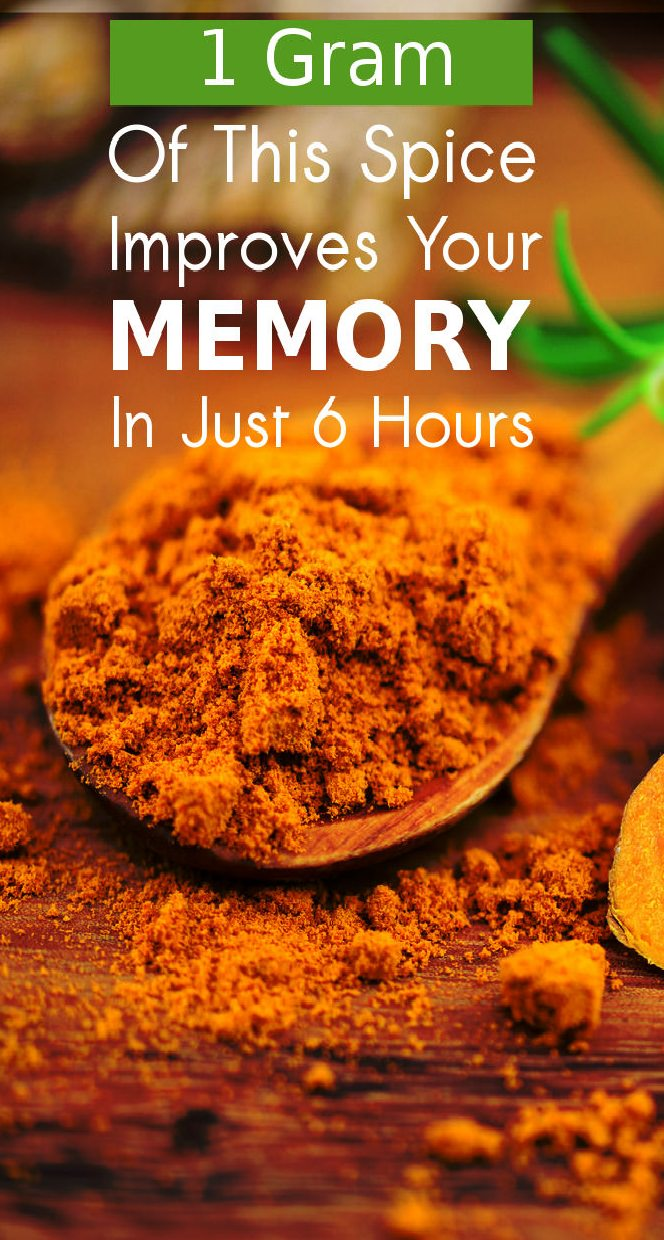 Just 1 Gram Of This Spice Daily And You Ll See Boost In