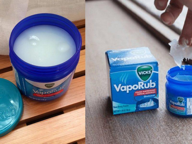 Surprising uses of Vicks VapoRub you've never heard of1 (1)