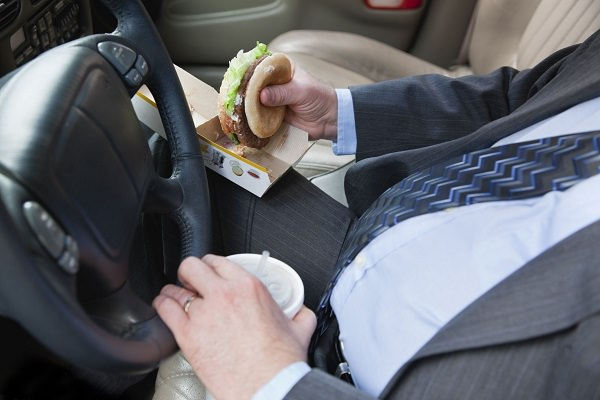 Avoid eating on-the-go