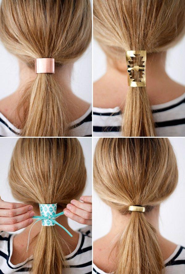 DIY Hair Cuff
