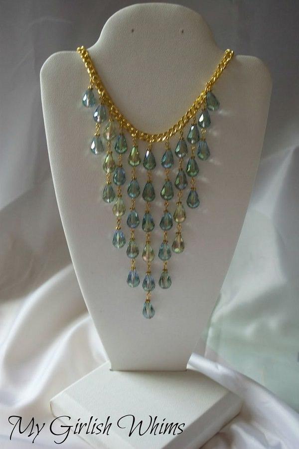 Mermaid Cascade Necklace