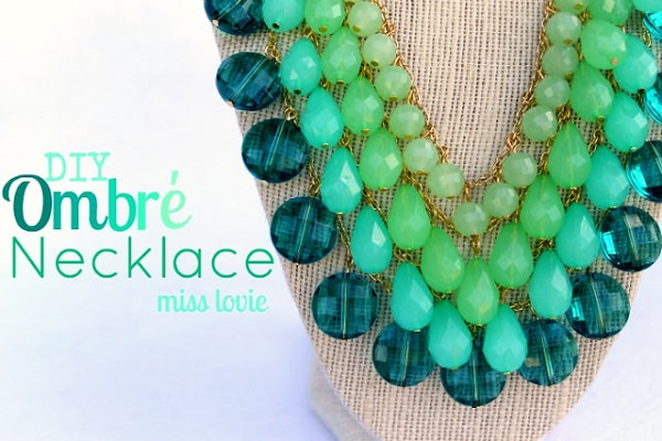 Ombre Necklace Tutorial
