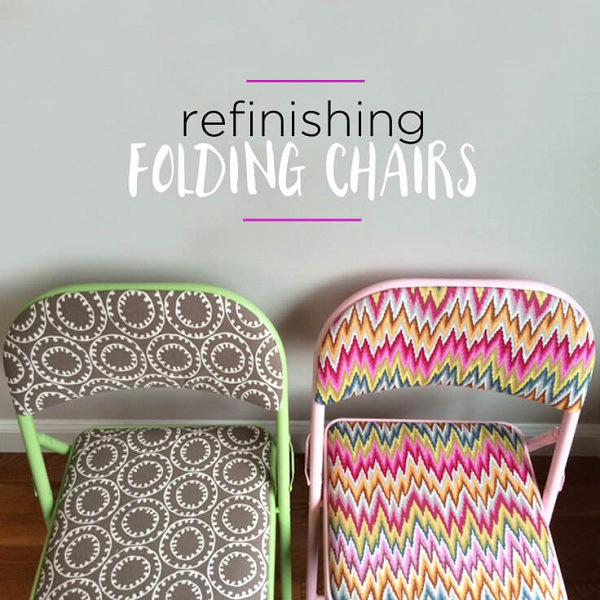 Refinished Folding Chairs