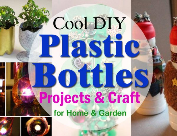cool diy plastic bottle projects and crafts for home and garden2
