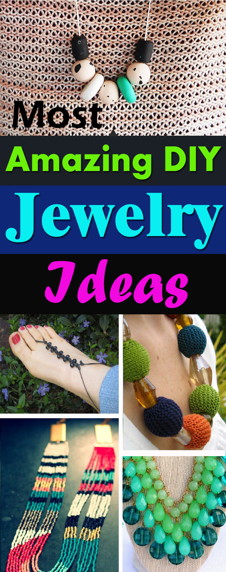 Want to make your own jewelry? Must look at these 40 amazing DIY jewelry ideas with the step by step tutorial!