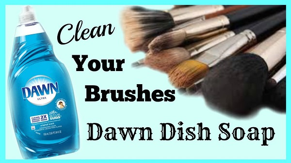 11. Clean Paintbrushes