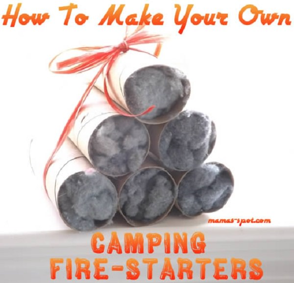 14. Camping Fire Starters