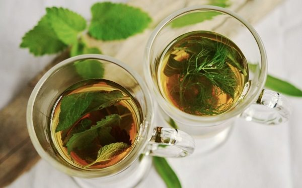 15. Mint or ginger tea 2