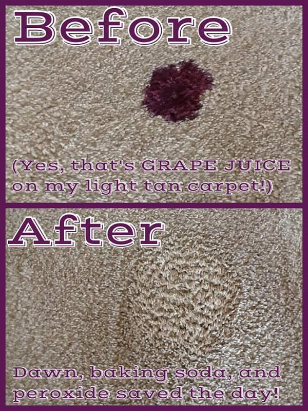 18. Carpet Stain Remover