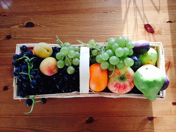 Fruit Grapes Pear Apricots Fruits Apple Plums