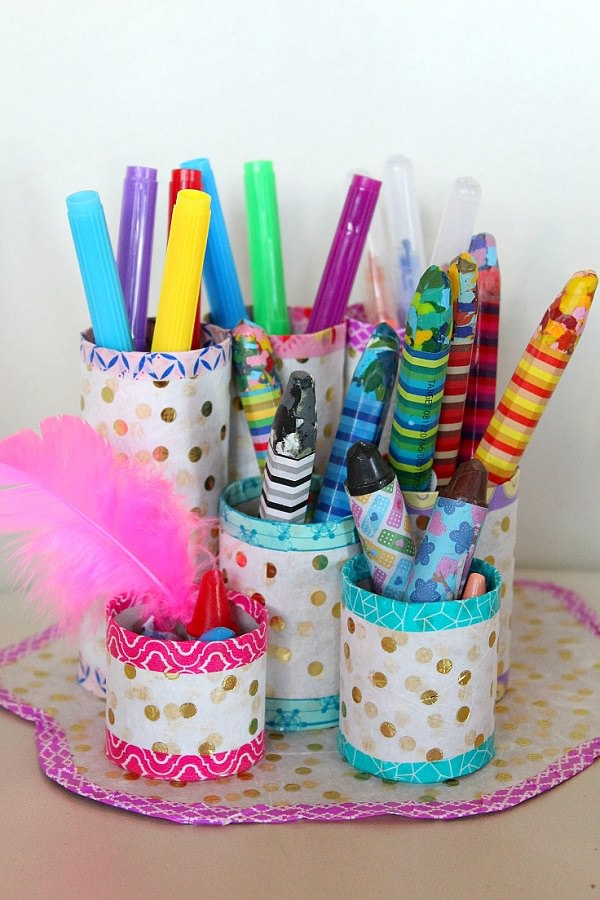 3. Writing Utensil Holder