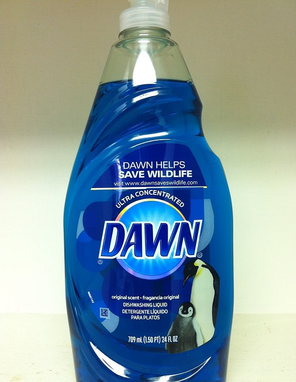 Cleaning Tile Floors with dawn 1