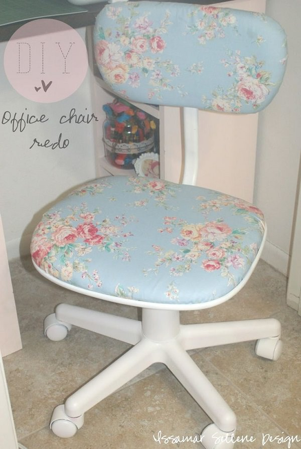 DIY Chic Office Chair
