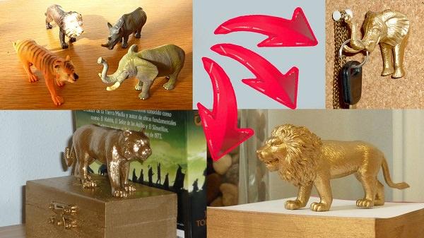 DIY Gold Toys & Trinkets