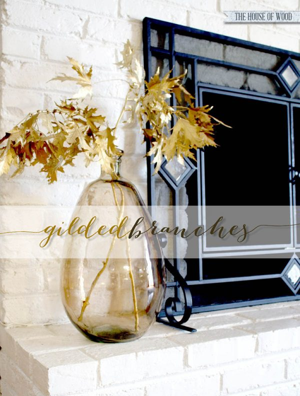 Golden Branch & Leaves