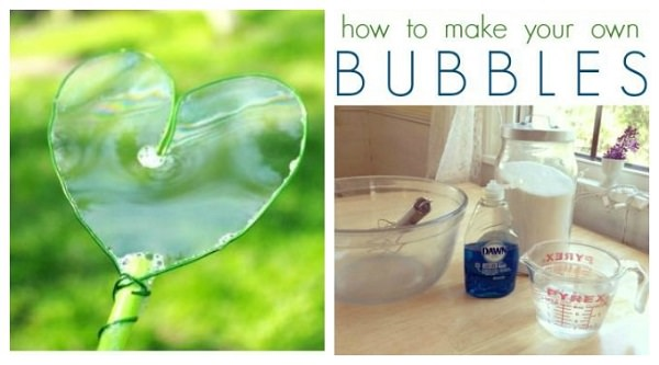 Homemade Bubbles with dawn 1
