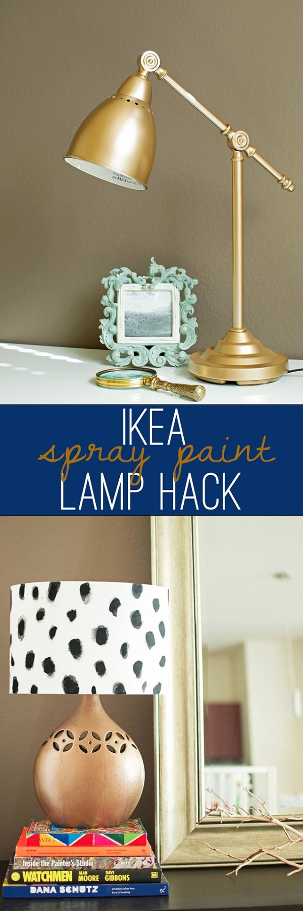 Metallic Accent Lamp