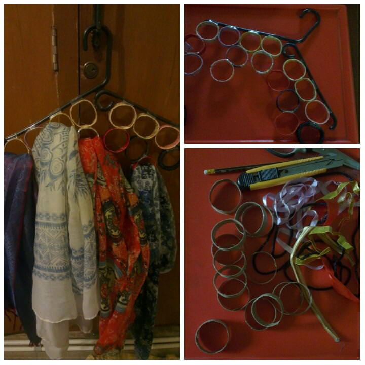 Scarf Hanger and Organizer