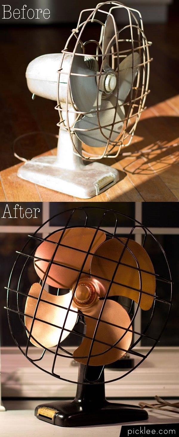 Vintage Fan Restoration