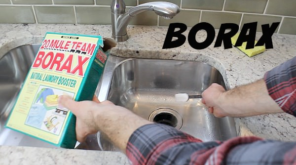 borax to clean garbage disposal