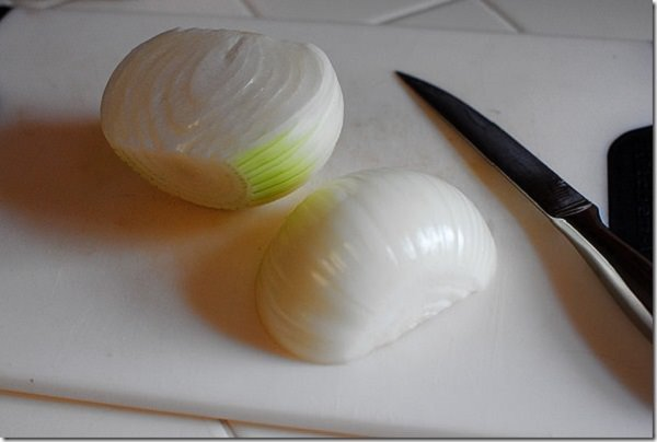 onion to remove odors