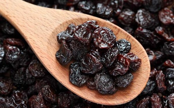 raisins relieve constipation