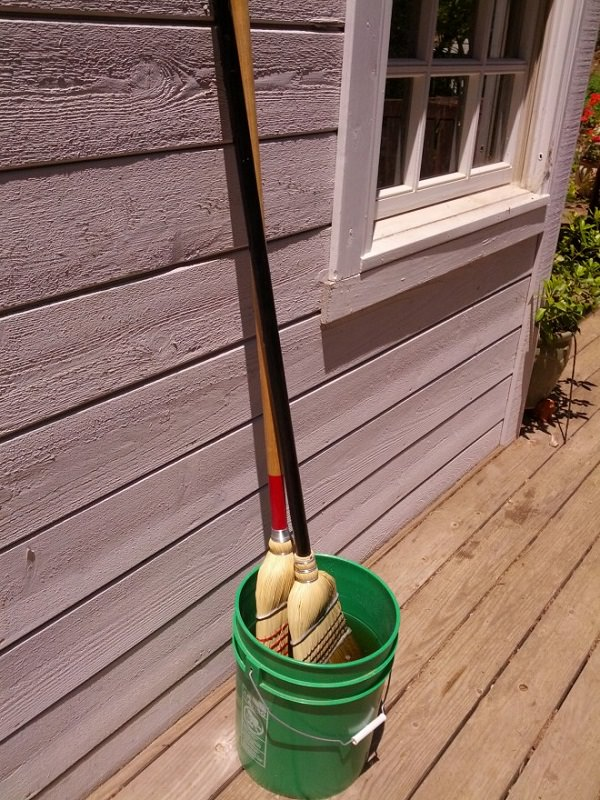 20. Lengthen the life of a broom