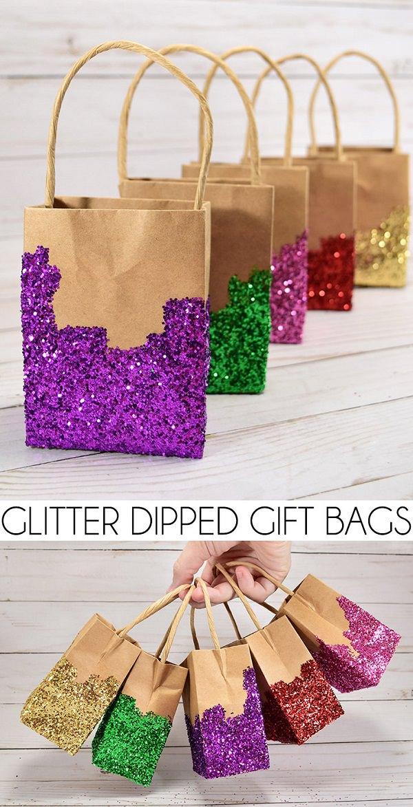 21. Glitter bags