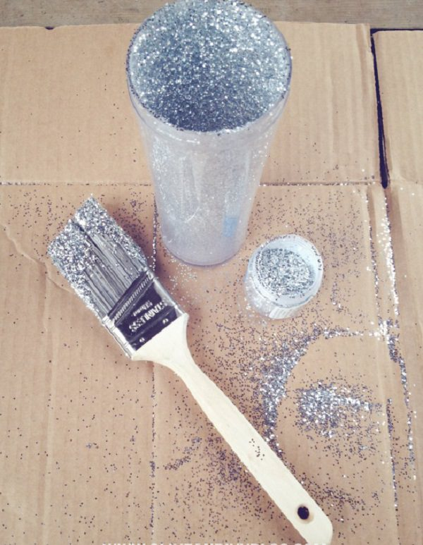 6. DIY Glitter Travel Mug