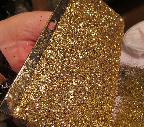 8. Glitter Clutch