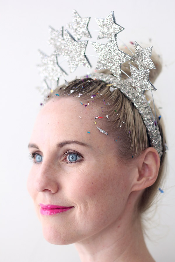 9. DIY Star Crown Head Band