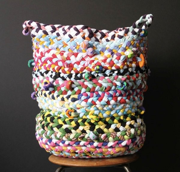 13. Braided basket