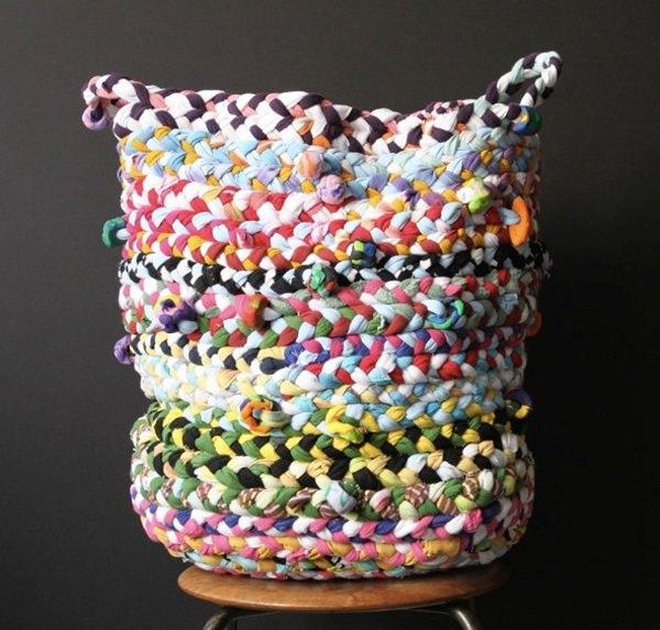 13. Braided basket