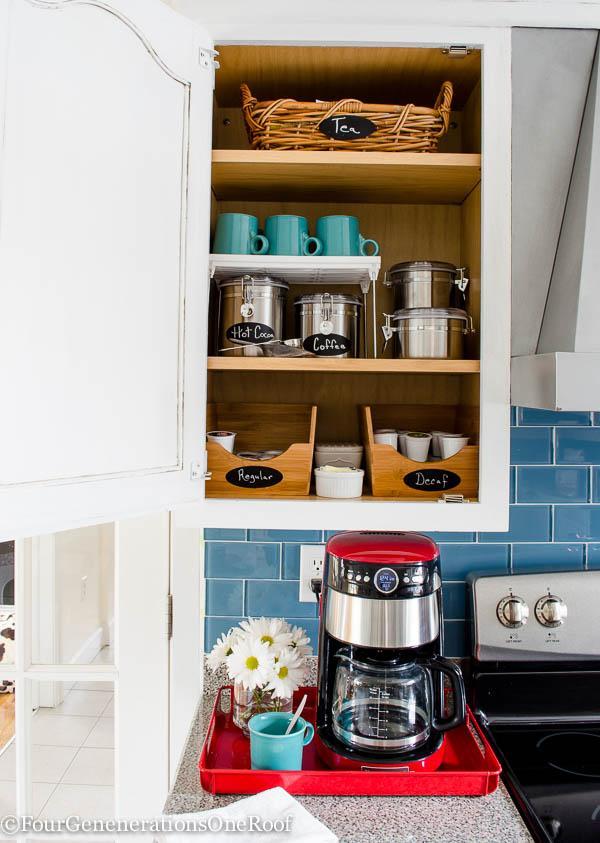 17. DIY Coffee Station