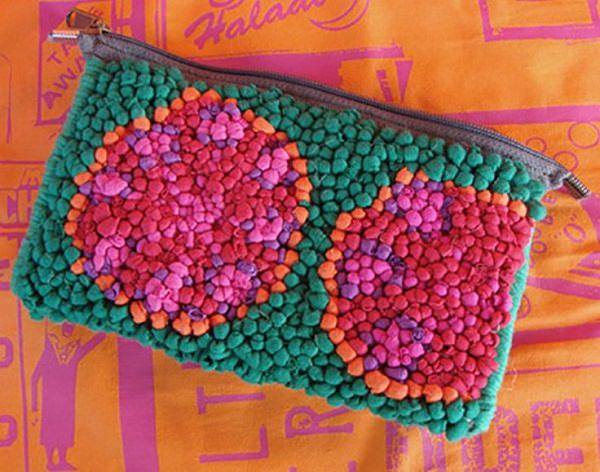 17. Multi-color pouch