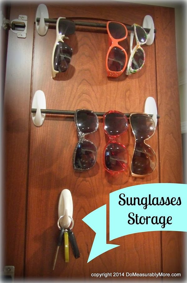 21. Sunglasses Rack