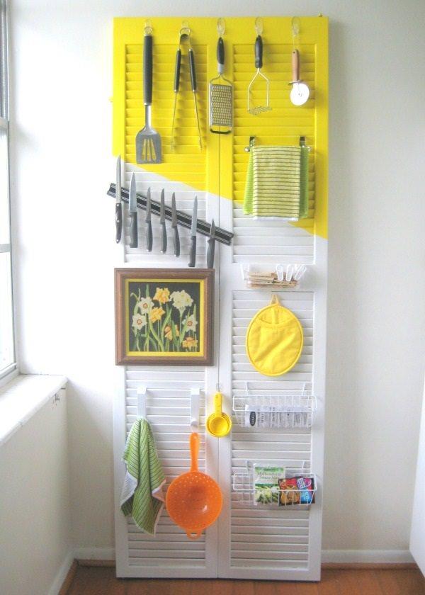 23. Kitchen Door Organizer