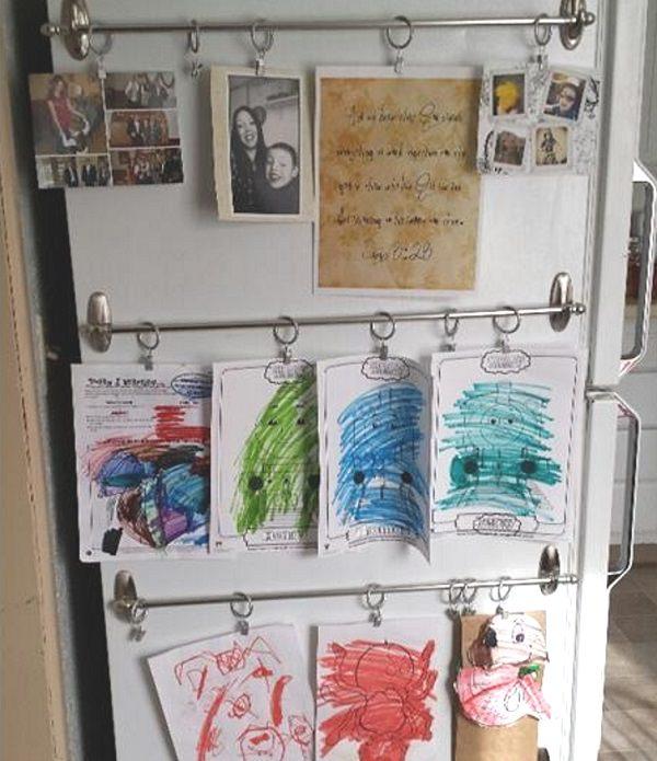 24. Kitchen Art Display