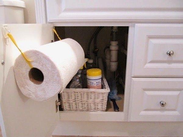 25. Paper Towel Holder