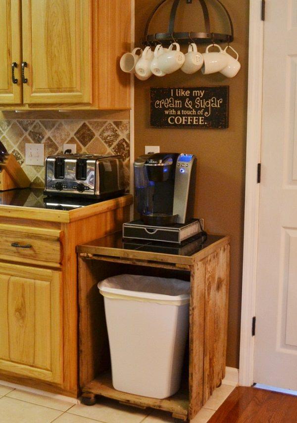 3. DIY Coffee Station