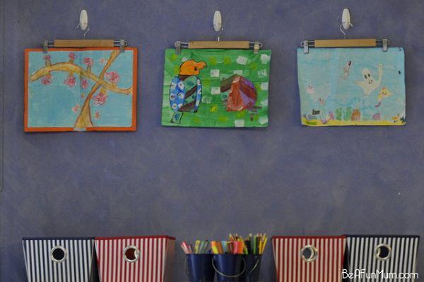 35. Children's Artwork Gallery