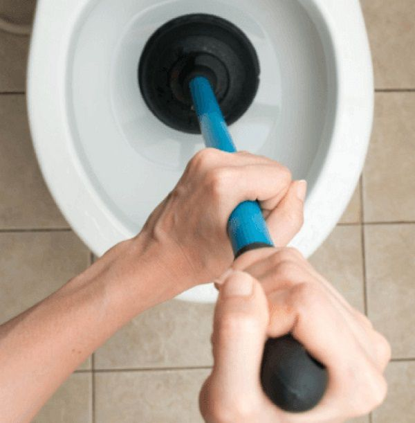 38. Use shampoo to unclog a toilet