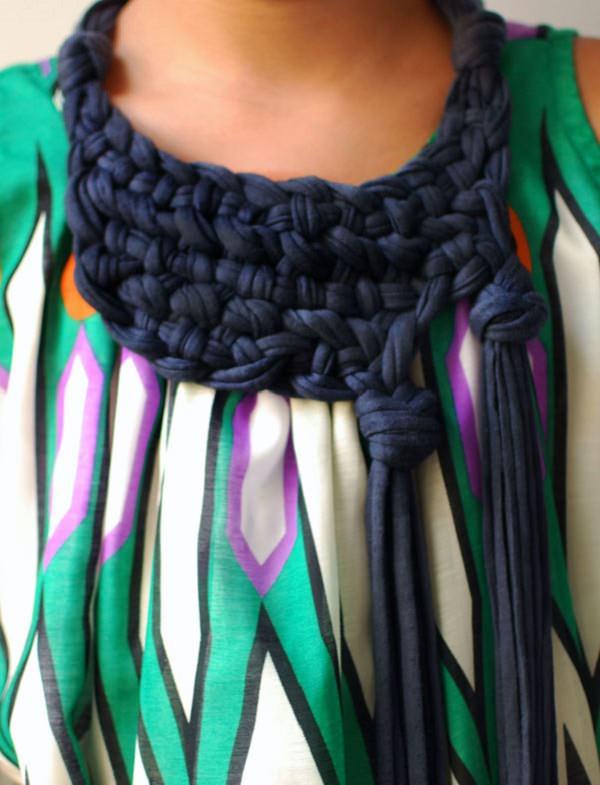 4. Chunky neck piece