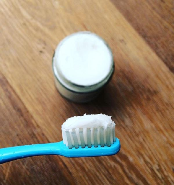 4. Homemade Antibiotic Toothpaste Recipe