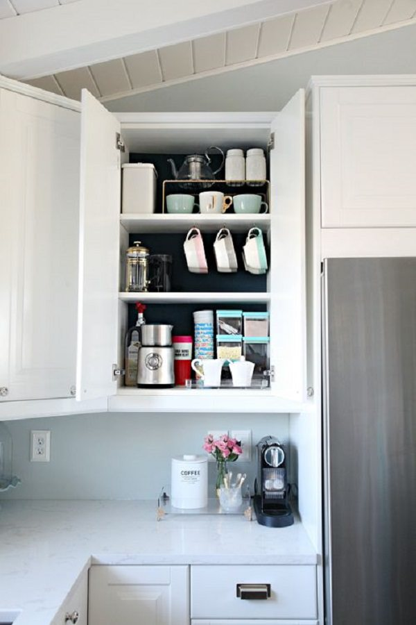 5. Organized Coffee Cabinet1
