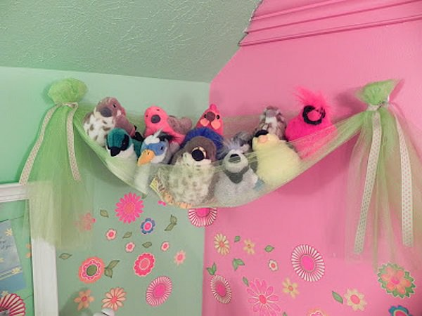 5. Stuffed Animal Storage