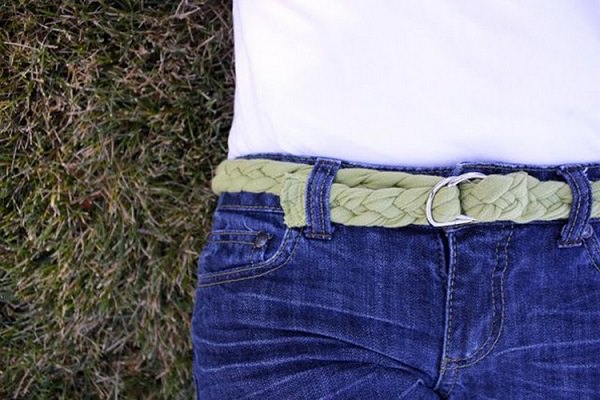 7. Braided belt