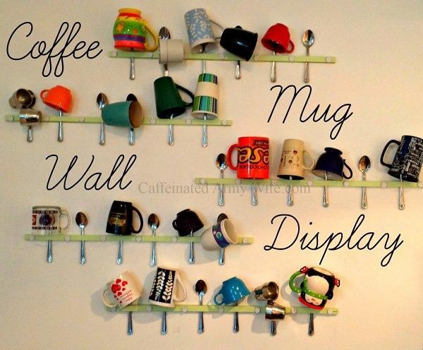 7. DIY Mug Wall