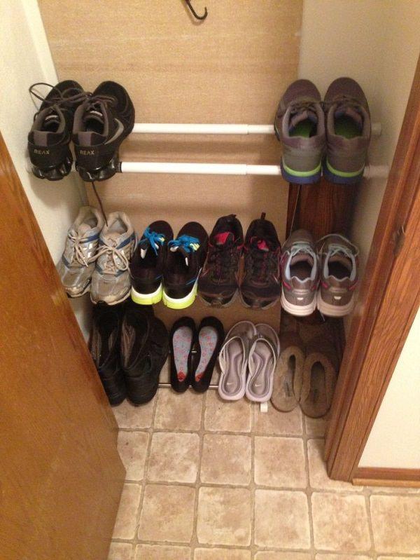 15diy shoe holder