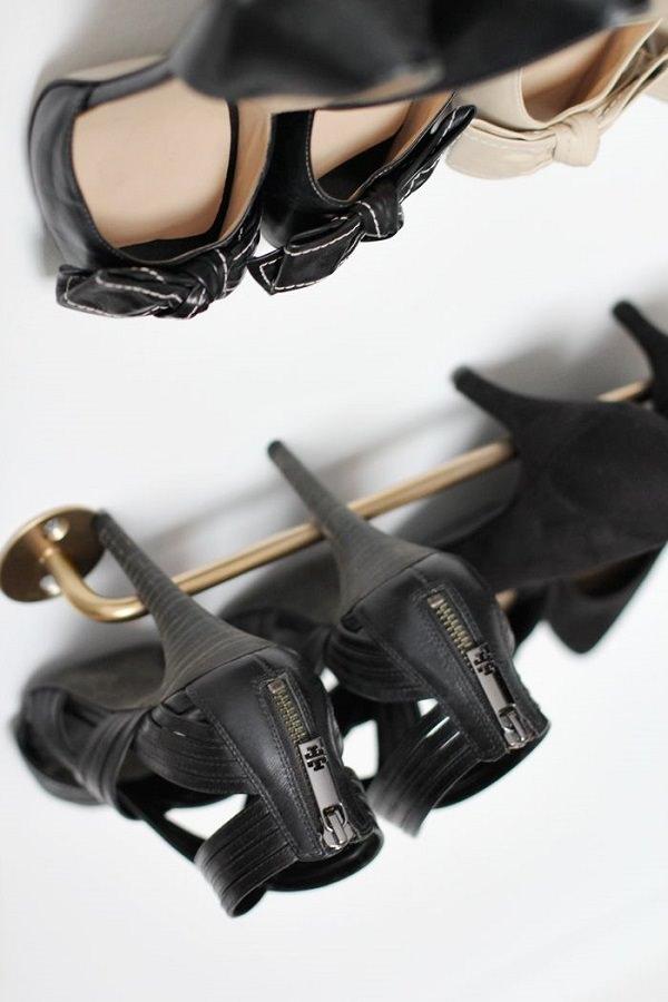 17diy shoe holder
